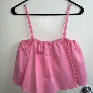 Zara Pink Tank Top NWT